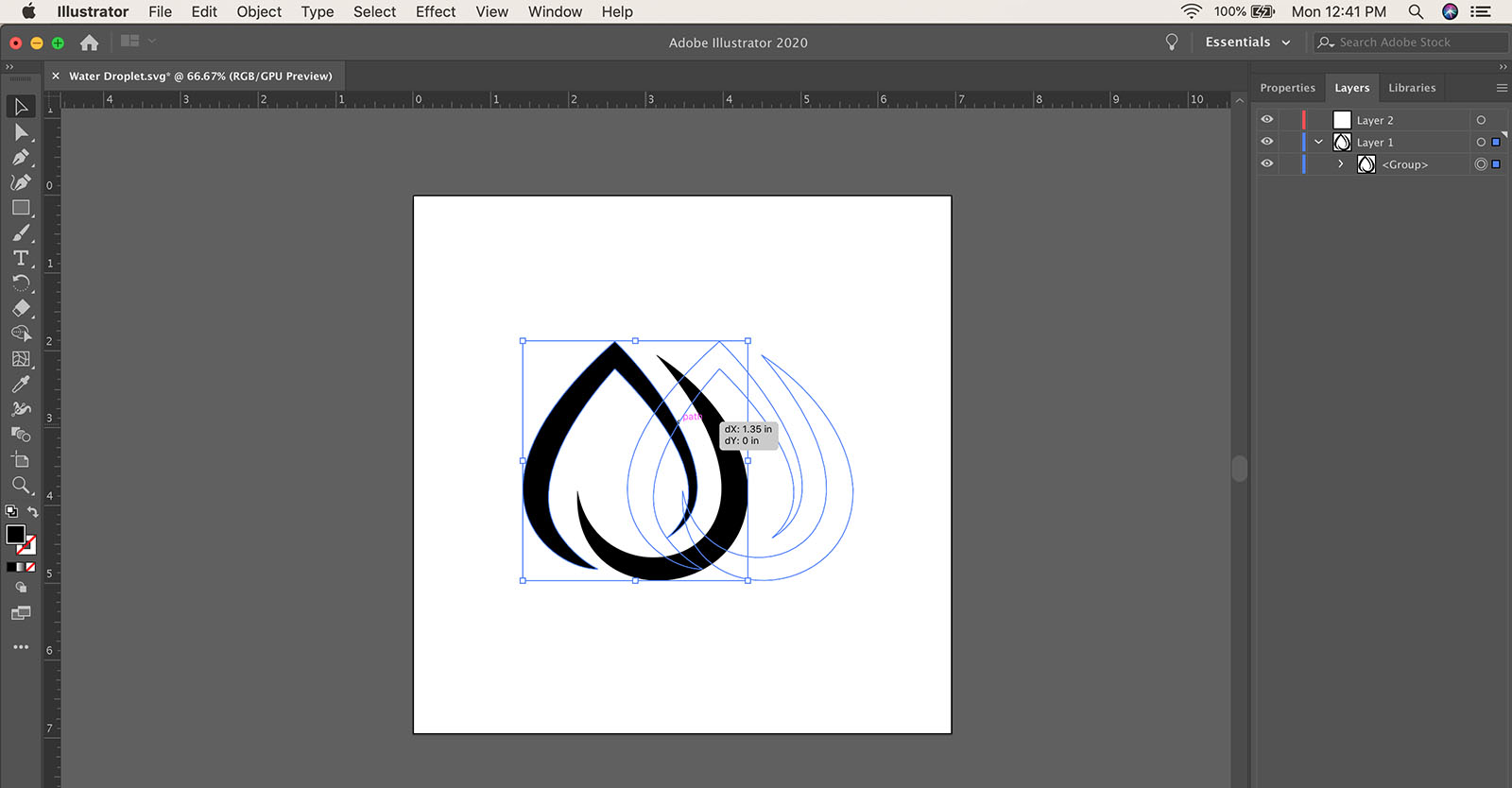 How to duplicate or copy an object in Illustrator