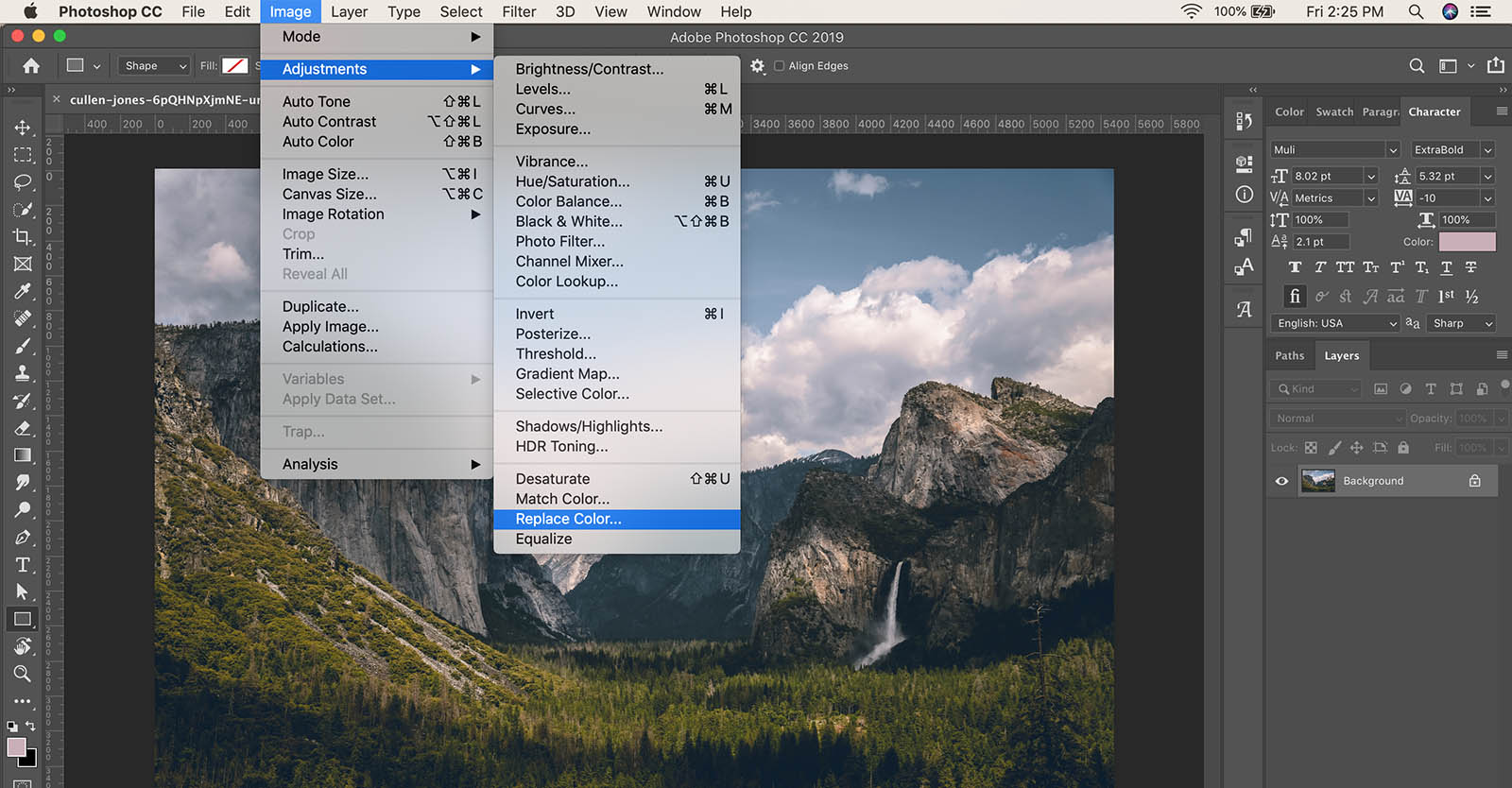 How to replacecolorinPhotoshop